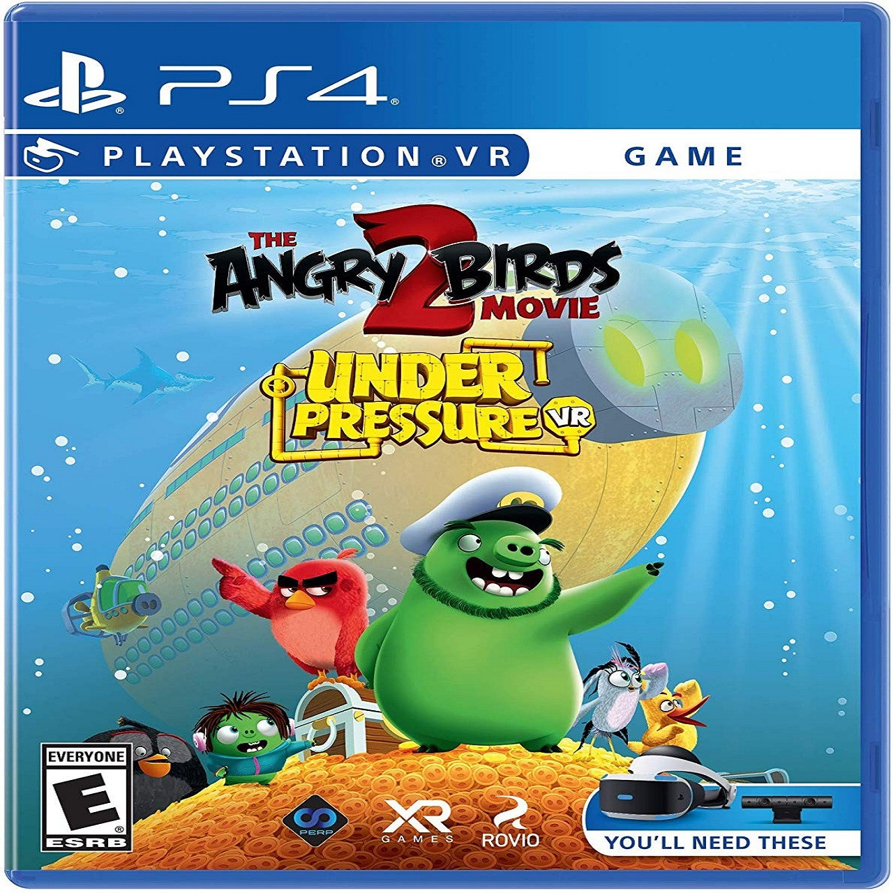 The Angry Birds Movie 2 VR: Under Pressure SUB PS4 (NEW)