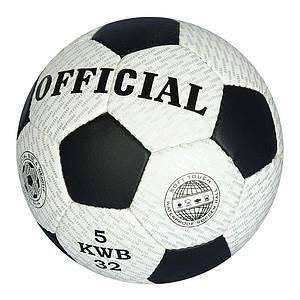 Мяч футбольный OFFICIAL 2500-207 размер 5 ручная робота 32 панели