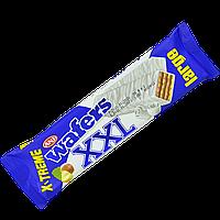Вафли Wafers XXL  с ореховым кремом в белой глазури 55 гр (уп/24шт)