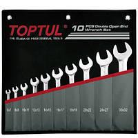 Набір ріжкових ключів 6-32 мм TOPTUL 10 шт. GPCJ1001