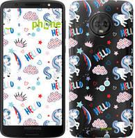 "Чехол на Motorola Moto G6 Единорожки 2 ""4715u-982-535"""