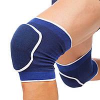 Наколенники для танцев и гимнастики взрослые (2шт) DIKES BC-0835 Синие