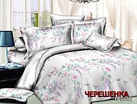 Семейный набор хлопкового постельного белья из Ранфорса №186580 Черешенка™