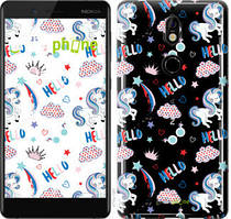 "Чехол на Nokia 7 Единорожки 2 ""4715u-1367-535"""