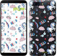 "Чехол на OnePlus 5T Единорожки 2 ""4715u-1352-535"""