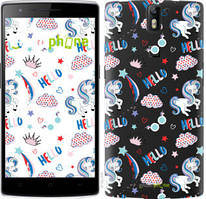 "Чехол на OnePlus 1 Единорожки 2 ""4715u-379-535"""