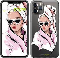 "Чехол на iPhone 11 Pro Девушка в очках 2 ""4714c-1788-535"""