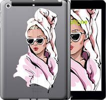 "Чехол на iPad 5 (Air) Девушка в очках 2 ""4714u-26-535"""