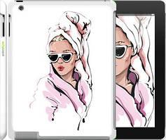 """Чохол на iPad 2/3/4 Дівчина в окулярах 2 """"4714c-25-535"""""""