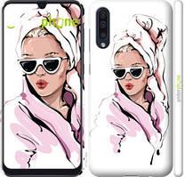 "Чехол на Samsung Galaxy A30s A307F Девушка в очках 2 ""4714c-1804-535"""