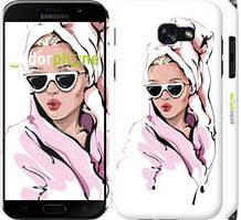 "Чохол на Samsung Galaxy A5 (2017) Дівчина в окулярах 2 ""4714c-444-535"""