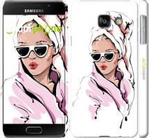 """Чохол на Samsung Galaxy A3 (2016) A310F Дівчина в окулярах 2 """"4714c-159-535"""""""