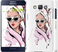 """Чехол на Samsung Galaxy A5 A500H Девушка в очках 2 """"4714c-73-535"""""""