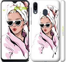"""Чохол на Samsung Galaxy M20 Дівчина в окулярах 2 """"4714c-1660-535"""""""