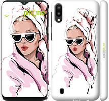 """Чехол на Samsung Galaxy M10 Девушка в очках 2 """"4714c-1661-535"""""""