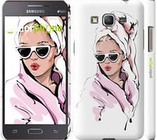 """Чохол на Samsung Galaxy J2 Prime Дівчина в окулярах 2 """"4714c-466-535"""""""