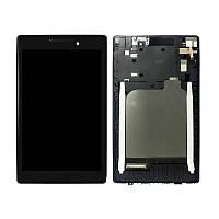 Дисплей (модуль) Lenovo Tab 2 A7-10, Tab 2 A7-20F, Tab2  A7-10F, A7-20 (с рамкой дисплея)