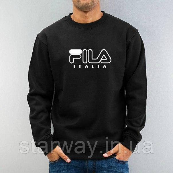 Свитшот стильный | Кофта Fila Italia logo