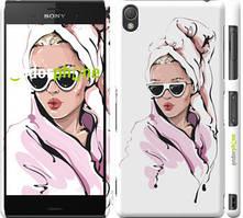 "Чохол на Sony Xperia Z3 D6603 Дівчина в окулярах 2 ""4714c-58-535"""