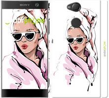"Чехол на Sony Xperia XA2 H4113 Девушка в очках 2 ""4714c-1357-535"""