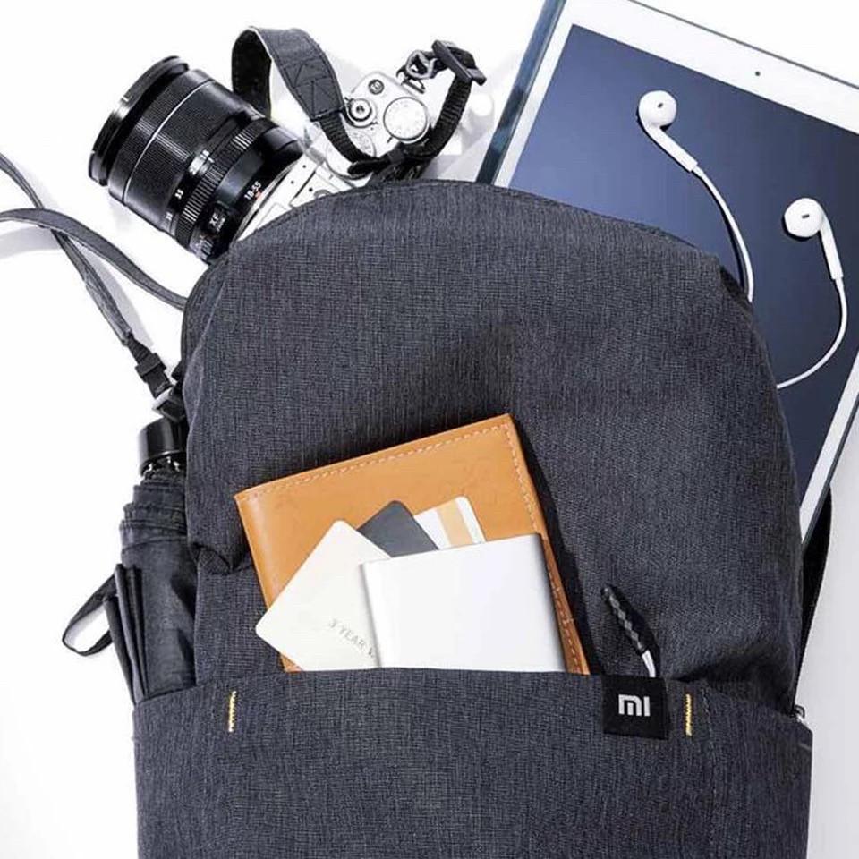 Оригинальный рюкзак Xiaomi Mi Colorfull 10L чёрный водонепроницаемый (оригинал) сумка