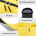 Оригинальный рюкзак Xiaomi Mi Colorfull 10L чёрный водонепроницаемый (оригинал) сумка, фото 8