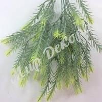 Трава декоративная, зеленая, 30 см