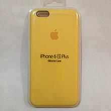Чехол iPhone 6 Plus / 6s Plus Apple Silicone Case Yellow