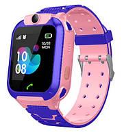 Детские умные часы smart watch TD07S GPS + камерой Pink