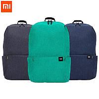 Оригинальный рюкзак Xiaomi Mi Colorful 10L синий водонепроницаемый (оригинал) сумка