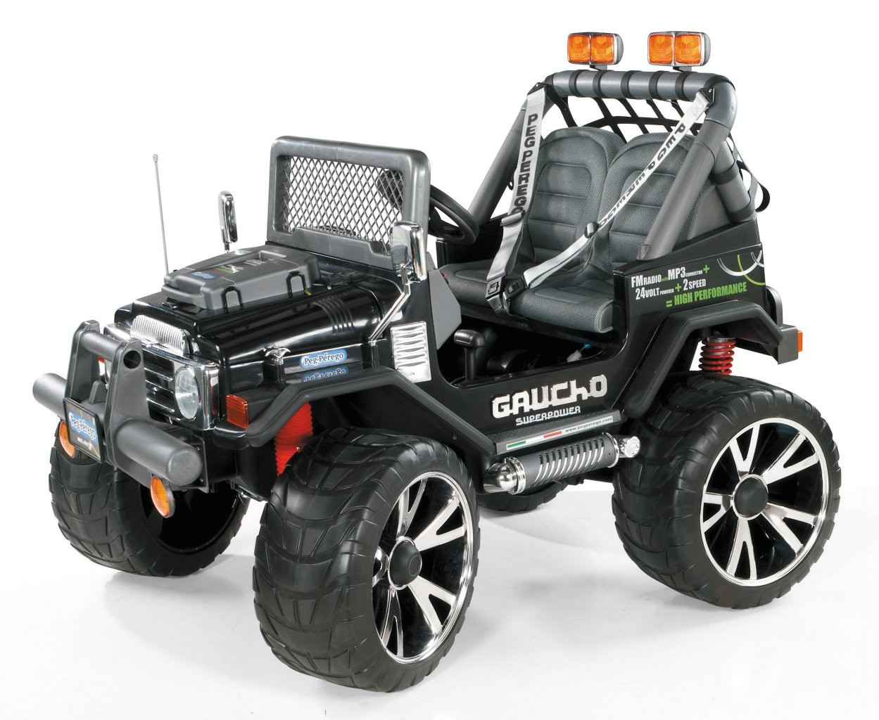 Электромобиль Peg-perego GAUCHO SUPERPOWER 24V