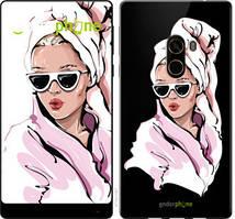 """Чохол на Xiaomi Mi MiX 2 Дівчина в окулярах 2 """"4714u-1067-535"""""""