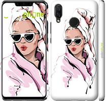 "Чехол на Huawei Nova 3 Девушка в очках 2 ""4714c-1535-535"""