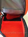 Оригинальный рюкзак Xiaomi Mi Colorful 10L бордовый (темно-красный) водонепроницаемый (оригинал) сумка, фото 8