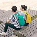 Оригинальный рюкзак Xiaomi Mi Colorful 10L бордовый (темно-красный) водонепроницаемый (оригинал) сумка, фото 7