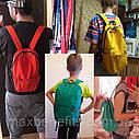 Оригинальный рюкзак Xiaomi Mi Colorful 10L бордовый (темно-красный) водонепроницаемый (оригинал) сумка, фото 4