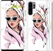 "Чехол на Huawei P30 Pro Девушка в очках 2 ""4714c-1621-535"""