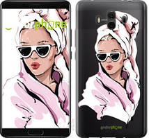 """Чехол на Huawei Mate 10 Девушка в очках 2 """"4714u-1116-535"""""""