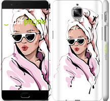 "Чехол на OnePlus 3T Девушка в очках 2 ""4714c-1617-535"""