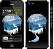 """Чехол на iPhone 5s Christmas """"4713c-21-535"""""""