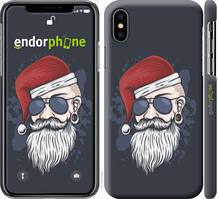 "Чехол на iPhone XS Christmas Man ""4712c-1583-535"""