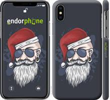 "Чехол на iPhone X Christmas Man ""4712c-1050-535"""