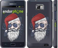 "Чехол на Samsung Galaxy S2 Plus i9105 Christmas Man ""4712c-71-535"""