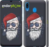 "Чехол на Samsung Galaxy A20 2019 A205F Christmas Man ""4712c-1761-535"""