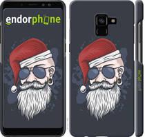 "Чехол на Samsung Galaxy A8 Plus 2018 A730F Christmas Man ""4712c-1345-535"""
