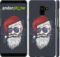 "Чохол на Samsung Galaxy A8 Plus 2018 A730F Christmas Man ""4712c-1345-535"""