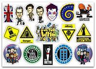 Stickers Pack Доктор Кто #278