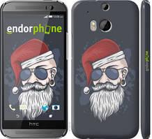 """Чехол на HTC One M8 dual sim Christmas Man """"4712c-55-535"""""""