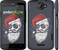 "Чехол на HTC One X Christmas Man ""4712c-42-535"""