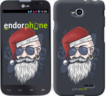 "Чехол на LG L70 Dual D325 Christmas Man ""4712u-201-535"""